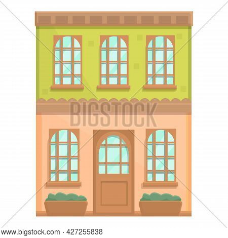 Coffeehouse Icon Cartoon Vector. Coffee Shop. Cafeteria Building