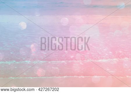 Glittery pastel background with blank space