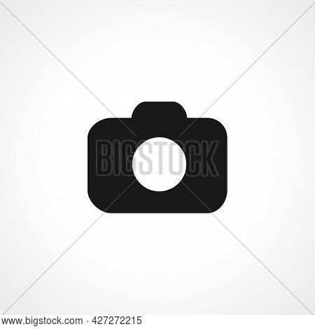 Camera Icon. Camera Isolated Simple Vector Icon.