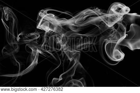 Smoke White Wave