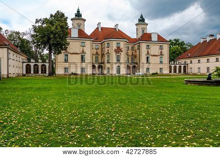 Palace In The Otwock Wielki In Poland