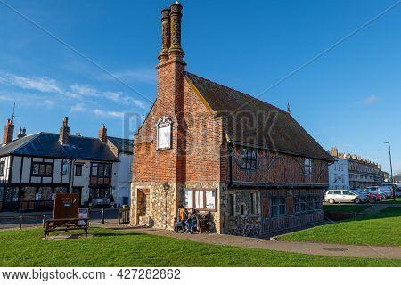 The Tudor Moot Hall At Aldeburgh, Suffolk, Uk