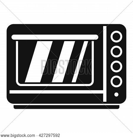 Fan Convection Oven Icon Simple Vector. Grill Kitchen Stove. Electric Or Gas Oven