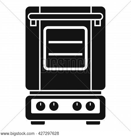 Inside Convection Oven Icon Simple Vector. Turbo Fan Oven. Kitchen Stove