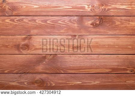 Old Wooden Brown Planks, Wood Texture. Desk Striped Surface. Natural Color. Weathered Timber, Board