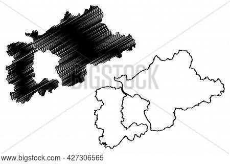 Rhein-sieg District (federal Republic Of Germany, State Of North Rhine-westphalia, Nrw, Cologne Regi