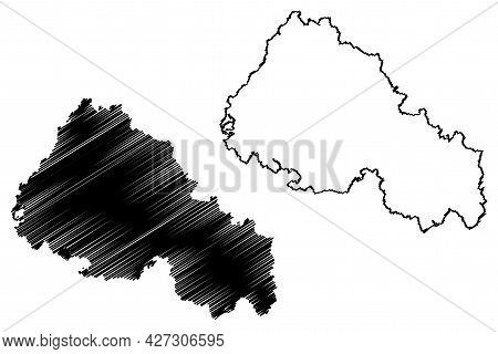 Rhon-grabfeld District (federal Republic Of Germany, Rural District Lower Franconia, Free State Of B