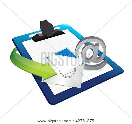 Contact Us Clipboard