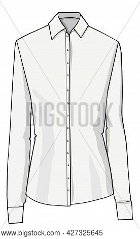 Shirt With Collar And Buttons, Formal Clothes