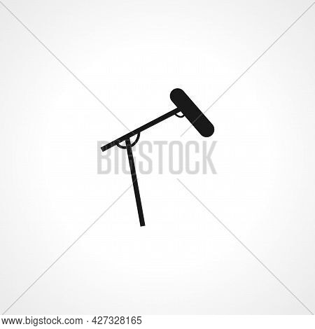 Microphone Icon. Microphone Isolated Simple Vector Icon.