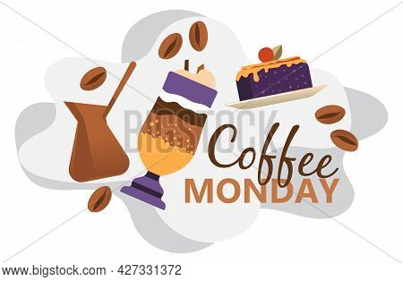 Coffee Monday, Special Promotion In Cafe Or Bistro