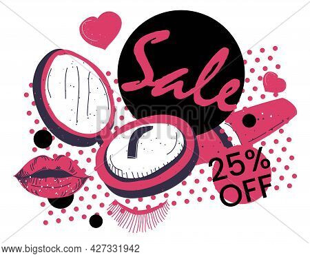 Cosmetic Products Care Sale And Special Discounts