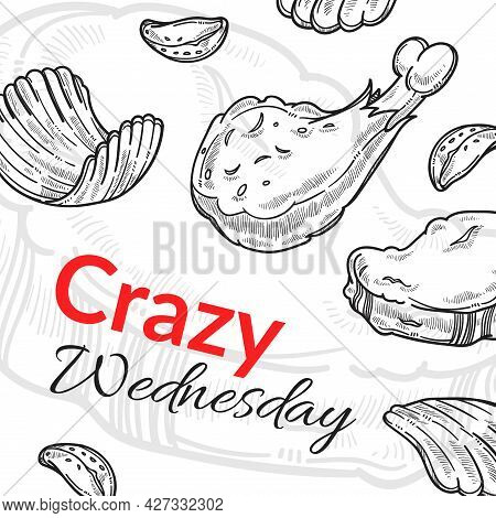 Crazy Wednesday, Food Discounts In Cafes Shops