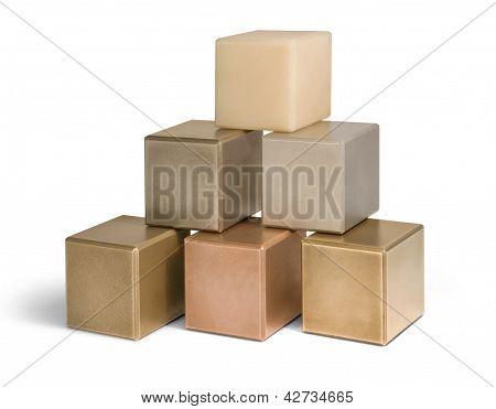 Mostly Metallic Cubes