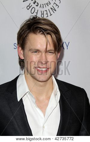 LOS ANGELES - FEB 27:  Chord Overstreet arrives at the PaleyFest Icon Award 2013 at the Paley Center For Media on February 27, 2013 in Beverly Hills, CA