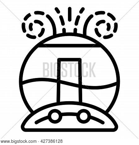 Air Humidifier Icon. Outline Air Humidifier Vector Icon For Web Design Isolated On White Background