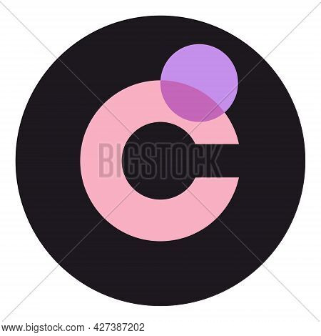 Chromia Chr Token Symbol Of The Defi Project Cryptocurrency Logo In Circle, Decentralized Finance Co