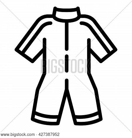 Snorkeling Clothes Icon. Outline Snorkeling Clothes Vector Icon For Web Design Isolated On White Bac