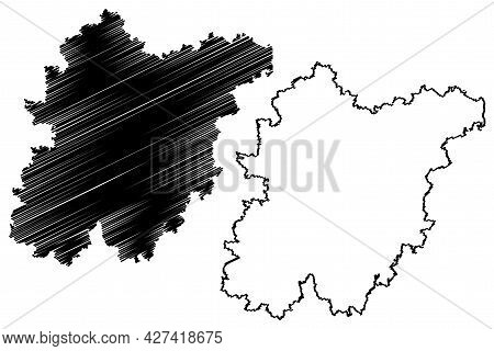 Schwandorf District (federal Republic Of Germany, Rural District Upper Palatinate, Free State Of Bav