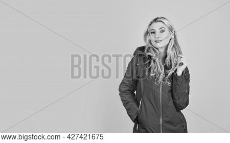 Model Wearing Stylish Accessories And Clothes. City Lifestyle. Copy Space. Beautiful Young Woman In