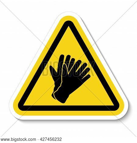Do Not Wear Gloves,please Take Off The Gloves