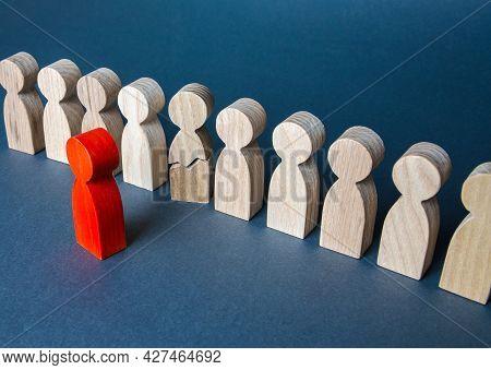 Leader Puts Psychological Pressure On The Subordinate. Stress, Nervous Breakdown. Burnout At Work. E