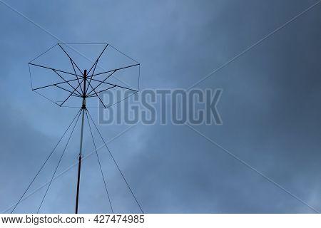 Military Radio Antenna, Radio-technical Equipment. Signals Intelligence. Radio Electronic Troops