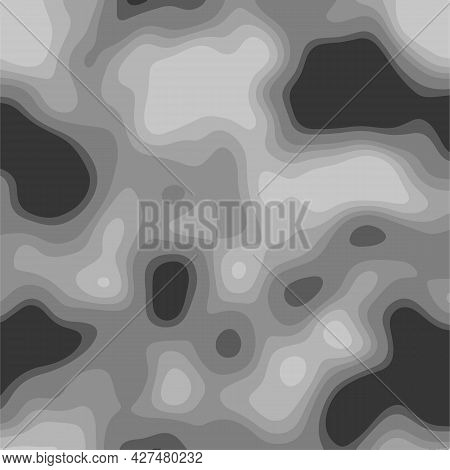 Modern Abstract Colorful Background Similar To The Image Of A Thermal Imager, Scanner, Tomograph, Et