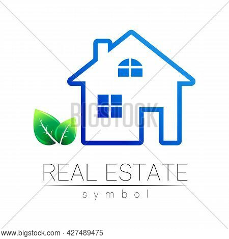 Real Estate Logo Design In Vector For Real Estateproperty Industry House Symbol For Brand Identity B