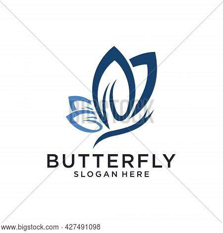 Butterfly Vector Logo Design Template