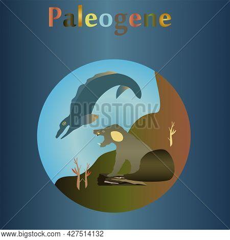 Paleogene In The History Of The Earth. The Flourishing Of Mammals.