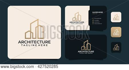 Build Architecture Property Investment Real Estate Logo Design. Logo Can Be Used For Icon, Brand, Id