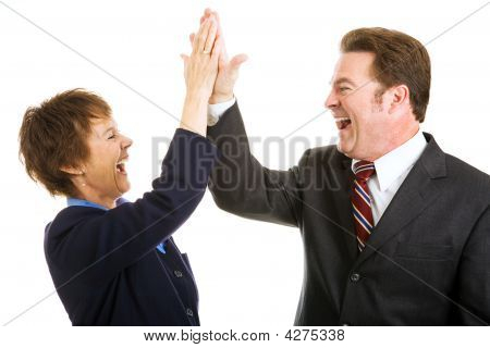 Business High Five