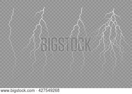 The Effect Of Lightning And Lighting Thunderstorm.