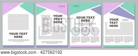Business Strategy Creative Brochure Template. Flyer, Booklet, Leaflet Print, Cover Design With Copy