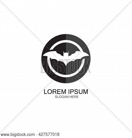 Bat Vector Icon Logo Template Illustration Design