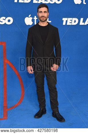 LOS ANGELES - JUL 15: Brett Goldstein arrives for the Ted Lasso Season 2 Premiere on July 15, 2021 in West Hollywood, CA