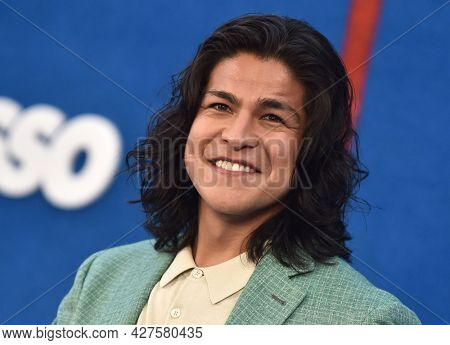 LOS ANGELES - JUL 15: Cristo Fernandez arrives for the ''Ted Lasso' Season 2 Premiere on July 15, 2021 in West Hollywood, CA