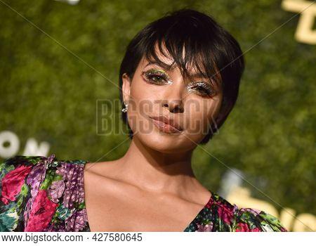 LOS ANGELES - JUL 21: Kat Graham arrives for The DiscOasis VIP Night on July 21, 2021 in Palos Verdes Estates, CA