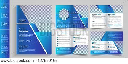 8 Page Brochure,brochure,brochure Layout,newsletter Design,8 Page Brochure Design, Color Brochure De