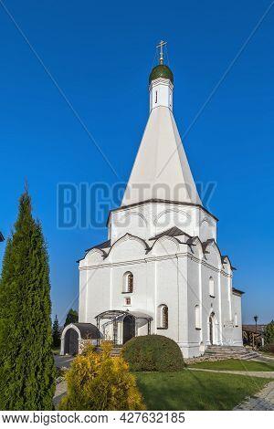 Transfiguration Temple In Spaso-preobrazhensky Vorotynsky Monastery Near  Kaluga, Russia