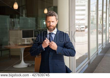 Charismatic Businessperson In Formalwear. Business Success. Successful Man