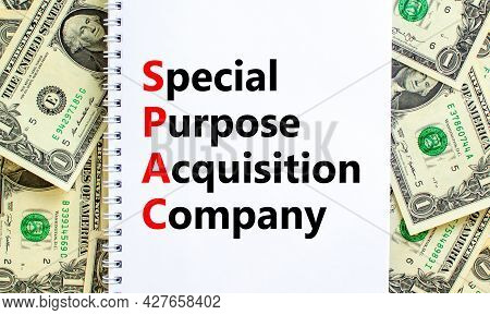 Spac, Special Purpose Acquisition Company Symbol. Words Spac, Special Purpose Acquisition Company On