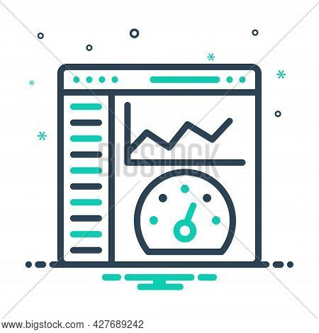 Mix Icon For Admin-panel Admin Panel  Content Management Api  Trendy App Graphic Infographic Report