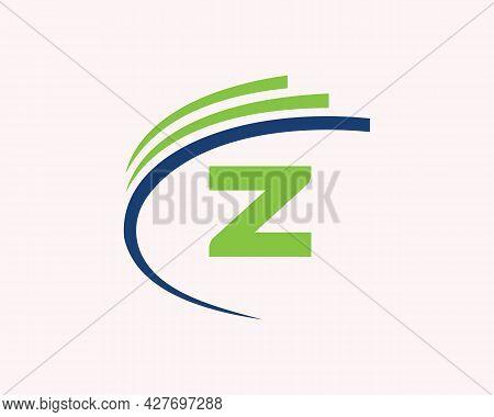 Z Logo Design. Z Letter Logo Design For Business, Construction, Technology And Real Estate Concept