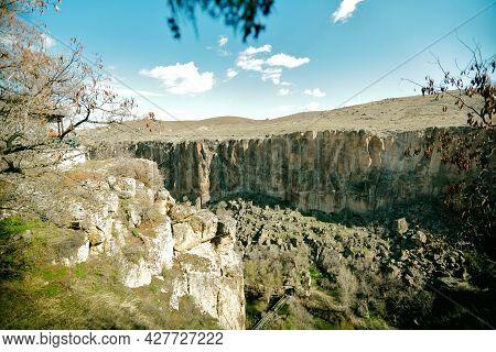 Ihlara Valley, Cappadocia, Former Settlement, Turkey - Cappadocia