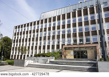Karvina, Czech Republic - September 13, 2020: The Building Of Town Hall And Council Of Karvina City