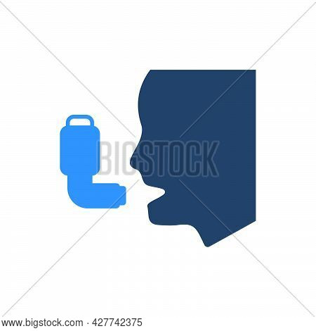 Asthma Icon. Meticulously Designed Vector Eps File.