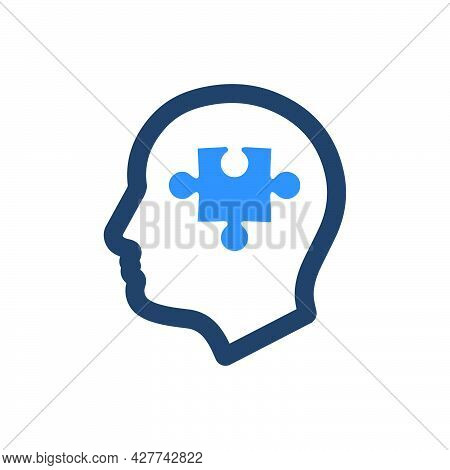 Psychiatry Icon. Meticulously Designed Vector Eps File.