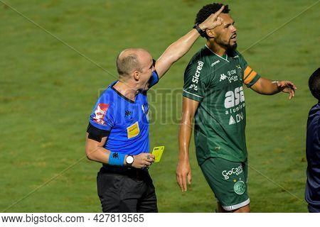 Rio, Brazil - July 24, 2021: Denis Da Silva Ribeiro Serafin Referee In Match Between Vasco 4 Vs 1 Gu